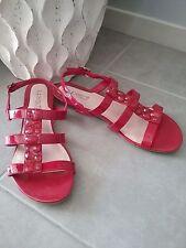Diana Ferrari Buckle Block Heel Sandals for Women
