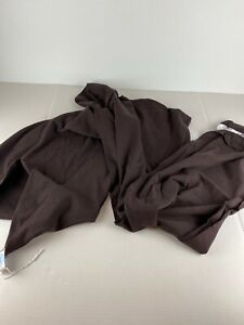 Moby Wrap Classic Baby Carrier Sling Chocolate Brown Cotton One Size 8-35 LBS