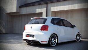 VOLKWAGEN VW POLO 6R (mk5) HECKDIFFUSOR, 5 V GTI HECKANSATZ 6 R