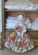 Hand Carved 1680's William Higgs Type Wooden doll (Reproduction)