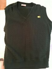 Master's Golf Cotton Sweater Golf Vest Men Size Large