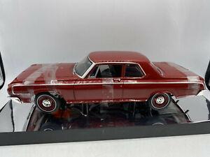 Highway 61 HTF Version 2 1964 Dodge 330 Series Sedan Red Color 1/18 Diecast
