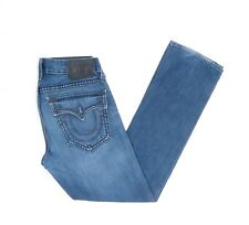 True Religion Jeans Hose W 32 / L  34 Dunkelblau Blau 32/34  -Z4605