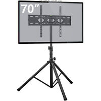 """Tripod TV Stand with Swivel & Tilt Mount for 37""""-70"""" Flat Screen TVs"""