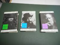 BERNARD SHAW BY M HOLROYD COLLECTION X3 BOOKS VOLS 1/2/3  VGC LOW POST UK