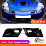 FRP Front Bumper Nismo Style Air Ducts Scoop Air Vents Kits For Nissan 350Z Z33