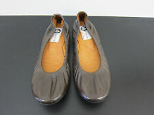 NEU Lanvin Lackleder Ballerinas braun flat shoes brown D37,5 UK4,5 3056