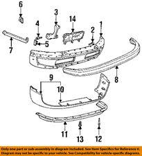 Dodge CHRYSLER OEM Ram 3500-Nose Bumper Panel-Valance Spoiler Lip 55076614AC