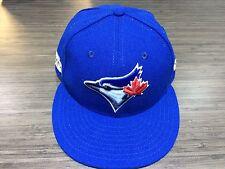 2016 New Era Toronto Blue Jays 59fifty 7 1/2 Cap Hat MLB Post Season On Field