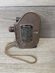 Revere Eight Model 88 Movie Camera WWII Era 1940-1946 Mid-Century Vintage