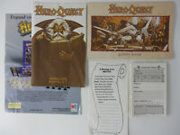 Heroquest INSTRUCTION BOOKLET & QUEST BOOK & CHARACTER SHEETS Milton Bradley!!