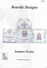 Summer Pocket Beardie Designs 2003 Netherlands Cross Stitch Pattern Chart