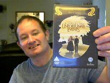 LEMONY SNICKET'S A SERIES OF UNFORTUNATE EVENTS 2 DVD EDI JIM CARREY FREE UK POS