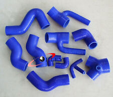 For Audi S4 RS4 Biturbo A6 B5 2.7T Bi-Turbo Silicone Induction Intake Hose BLUE