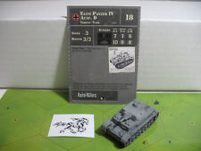 Axis & Allies Contested Skies Elite Panzer IV Ausf. D with card 28/45