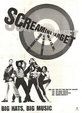 15/6/91 Pgn53 Advert: Screaming Target The Debut Album hometown Hi-fi 15x11