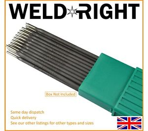 Weld Right ENiFe-C1 Ferro Cast Iron Arc Welding Electrodes Rods 2.5mm x 5 Rods