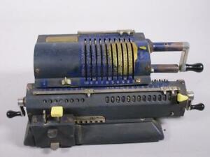 Alte Original Odhner Sveridge Rechenmaschine    1M2216