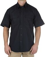 5.11 Tactical Mens Navy Blue Size 4XL Taclite Pro Button-Down Shirt $58 #497