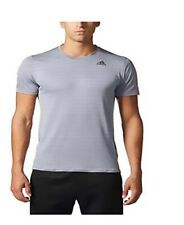 Adidas Men's Climalite Energy Running Nova Training Short Sleeve Tee/ Xxl / Grey