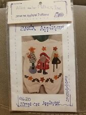 Santa Applique by Alice and Her Mother #9620