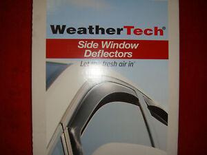 WeatherTech Side Window Deflectors Suburban/Silverado/Sierra/Yukon XL Dark 82184