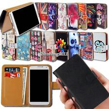 Leather Wallet Card Stand Magnetic Flip Case Cover For Various Jiaka SmartPhones
