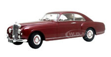 1955 BENTLEY S1 CONTINENTAL FASTBACK BURGUNDY 1/18 MODEL BY CULT MODELS CML023-1