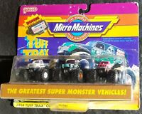 Vintage Galoob Micro Machines Tuff Trax Grave Digger Outlaw Clydesdale 7414