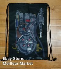 Loot Crate Ghostbusters Proton Pack Drawstring Backpack Bag Ghostbusters New