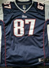 New England Patriots Gronkowski 87 NFL on field - Youth XL (Adult Small/medium)