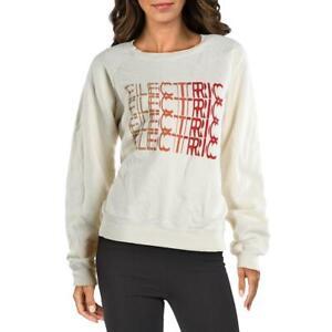 Current/Elliott Womens Electric Fitness Workout Sweatshirt Loungewear BHFO 5110