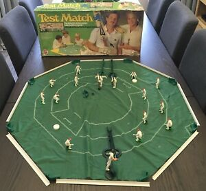Vintage Test Match England Cricket Board Figure game 1985 Peter Pan playthings 2