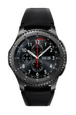 Samsung Gear S3 Sm-r760 Frontier Bluetooth Smart Watch Black