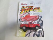 Maisto Turbo Tread Fire Dept pickup