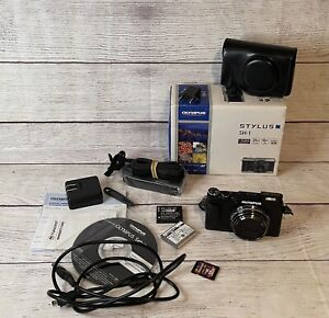 Olympus STYLUS SH-1 Compact Digital Camera