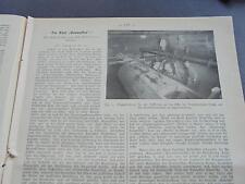1914 Baugewerkszeitung 18 / Berlin Grundwasser Schöneberg Charlottenburg Teil 1