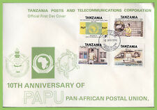 Tanzania 1990 Pan African Postal Union set First Day Cover