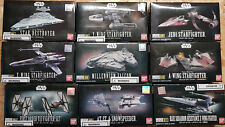 Bandai Star Wars Figur Bausatz Model Kit Star Destroyer AT-ST X-Wing A-Wing Yedi
