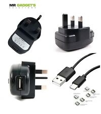 MGS Branded USB Mains Fast Charger + TypeC Cord for Xiaomi Mi 6 - 2 Meter
