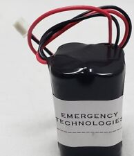 Emergency Light Exit Sign 4.8V 700MAH Ni Cd Battery Replacement