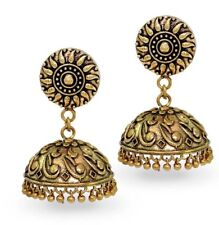 Oxidized gold plated jumki