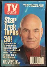 TV GUIDE: Aug. 24 - 30 ~ Star Trek Turns 30! ~ Patrick Stewart