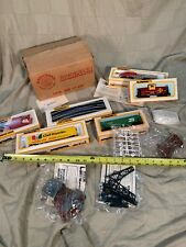MINT BACHMANN TRAIN SET HO SCALE TRACK POWER PACK ELECTRIC Locomotive Caboose