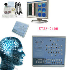 Hot Digital 24 channels EEG Brain Electric Activity Mapp,2 Tripods,PC software