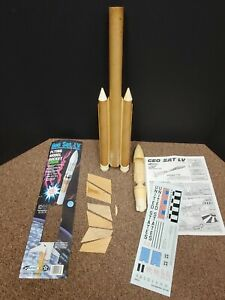 Estes GEO SAT LV Flying Model Rocket #1977 Original * Needs Repair * OOP * RARE