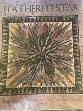 Feathered Star by Karen K. Stone - Quilt pattern - Unused.