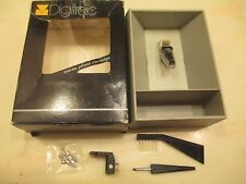 DIGITRAC P-MOUNT CARTRIDGE AND GENUINE DIGITRAC 200 NE STYLUS IN CASE WITH BOX