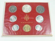*** LIRE KMS VATIKAN 1971 BU Lira Coin Set Vaticano Kursmünzensatz vor Euro ***
