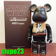 Medicom 400% Bearbrick ~ Star Wars Be@rbrick Ewok Paploo